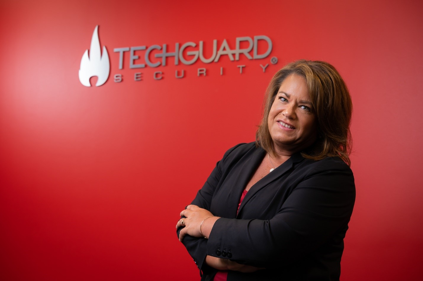 CEO/President of TechGuard, Carla Stone